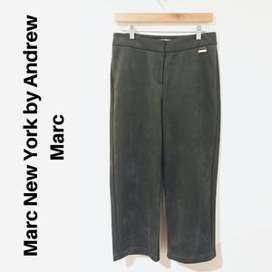 Marc New York by Andrew Marc Olive Cropped Pant